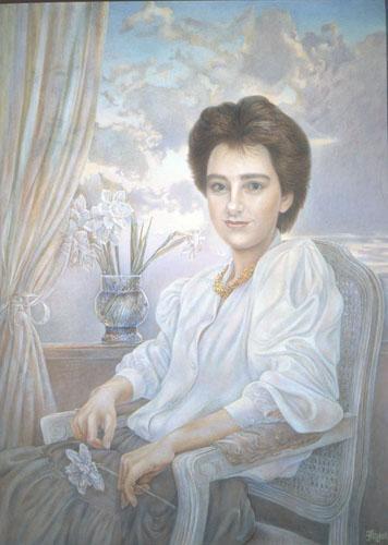 portrait of Anna Grasso