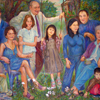 portrait of Damary family