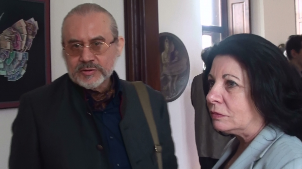 with director of Russian Cultural Institut in Vienna T.S. Mishukovskaya