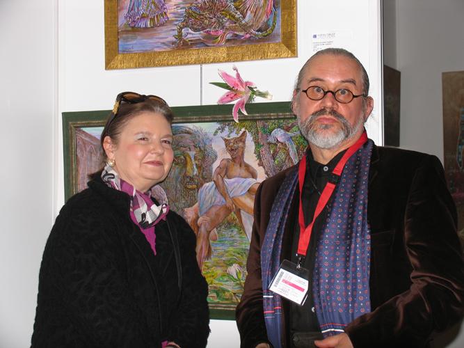With Elena Tikhonova